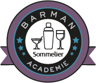 Logo Sommelier Barman Académie Lyon Découverte du vin formation initiation
