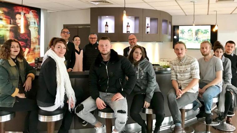 Masterclass Barman Club Pernod pour les CQP 2 - Formation professionnelle - Barman Académie Lyon région Auvergne Rhône-Alpes