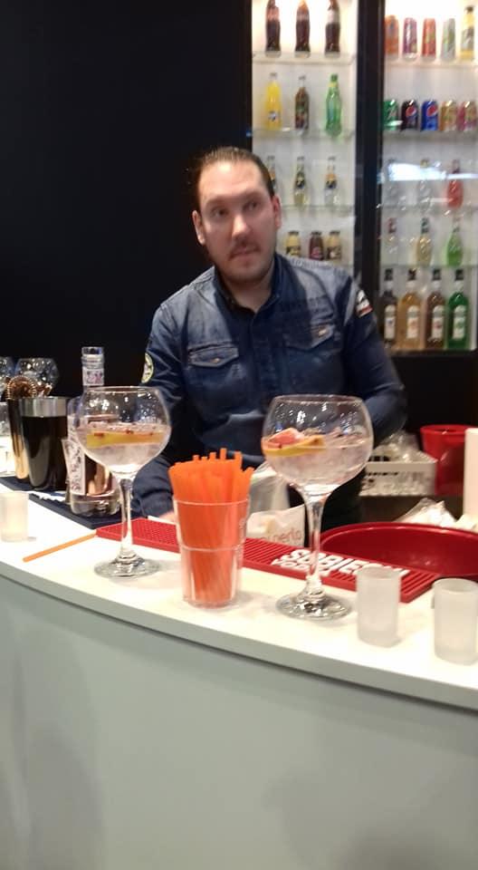 Visite du Salon du SIRHA avec les CQP Barman - Barman académie Lyon -formation barman barmaid monde de la nuit